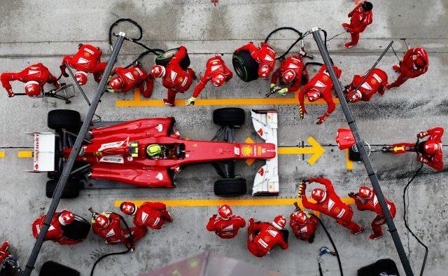 Productivitatea echipei: 3 momente din Formula 1