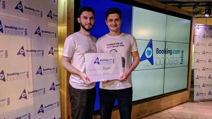 Un startup românesc a primit o finanţare de 20.000 de euro de la Booking.com