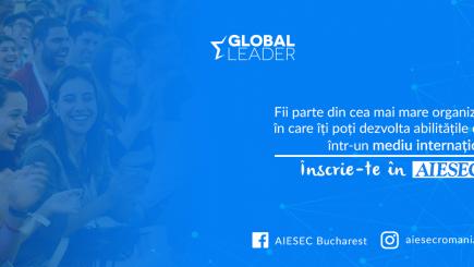 AISEC, cea mai mare organizație de studenți din lume, recrutează