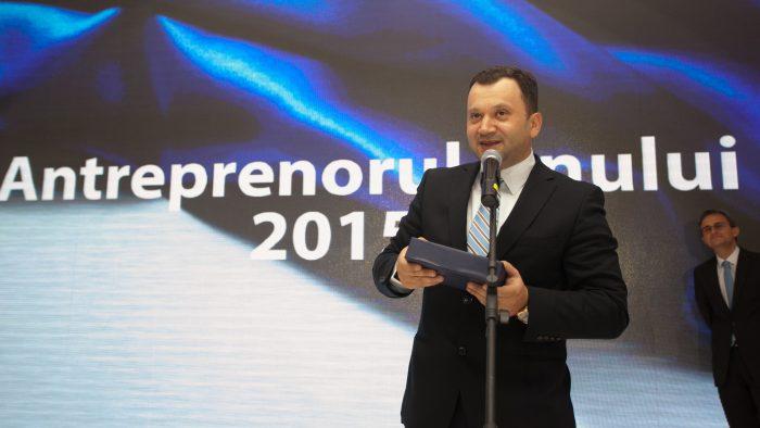 """Raul Ciurtin, președintele Albalact, este """"Antreprenorul Anului"""" la ediția 2015 a galei """"Campioni în Business"""""""