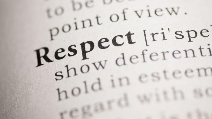 Principiul cauză-efect: Respectul întâi se oferă, apoi se primeşte