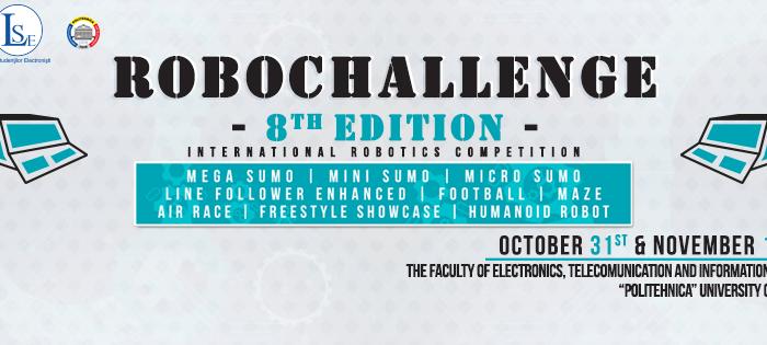 Concurs internațional de robotică – toamna aceasta, la București
