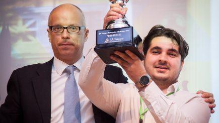 O echipă românească a obţinut marele premiu la JA Europe Enterprise Challenge 2016