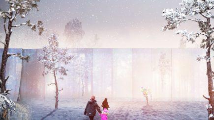 """Doi arhitecți români au proiectat """"Centrul logistic"""" al lui Moș Crăciun din Finlanda"""