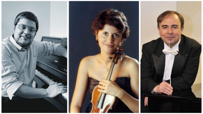 Ciprian Marinescu, într-un concert Mozart/Mendelssohn la Sala Radio