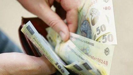 Salariului minim pe economie rămâne la 1.250 de lei