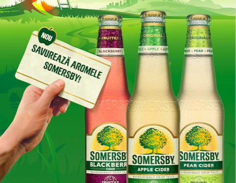 Somersby, un nou cidru pe piața din România