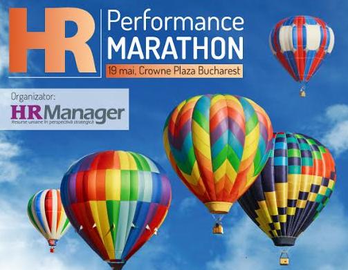 Începe cursa spre performanţă! Performance Management Marathon, 19 mai 2016, Hotel Crowne Plaza Bucureşti