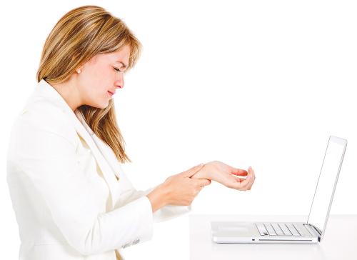 Sindromul tunelului carpian - boala folosirii mouse-ului la birou. Cum apare şi cum o evităm