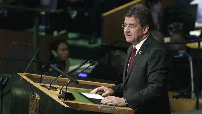 Preşedintele Adunării Generale a ONU, numit Doctor Honoris Causa al SNSPA