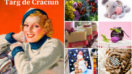 Târg de Crăciun. Cadouri și delicatese culturale de la Fundația Calea Victoriei