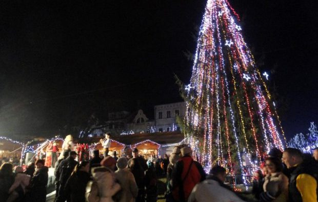 """""""Harta"""" târgurilor de Crăciun din România"""