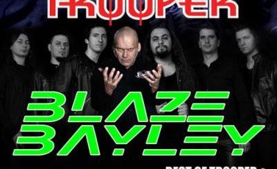 Concert-tribut Iron Maiden la Bucureşti