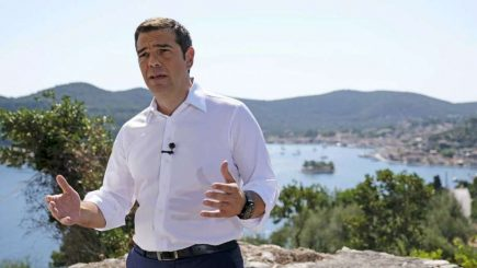Grecia intră într-o nouă eră: Mesajul simbolic de pe insula Itaca al premierului Alexis Tsipras /VIDEO