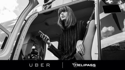 Ubercopterul, serviciul Uber creat pentru Festivalul de la Cannes
