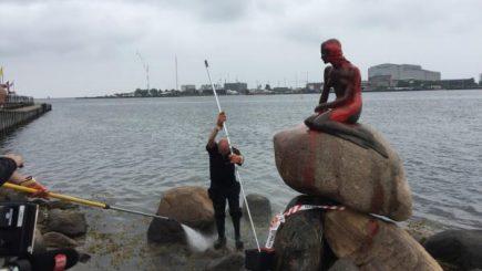 Mica Sirenă a fost vandalizată marți dimineață