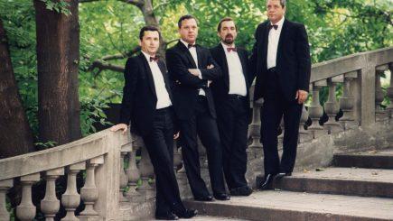 Voces, cvartetul cu cea mai lungă tradiție în România, în concert 100% Haydn
