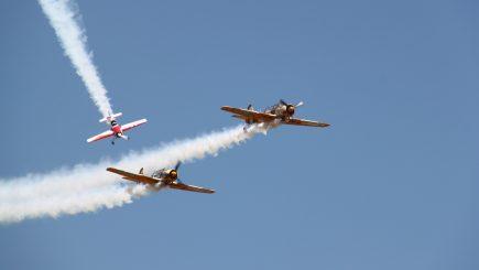 Mare show aviatic la Romaero Băneasa