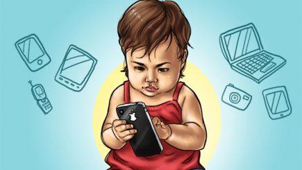 """""""E nevoie de copii mai inteligenți decât telefoanele lor inteligente"""""""