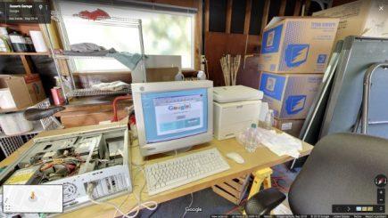 Google sărbătoreşte 20 de ani: Vizită virtuală în garajul în care a funcționat primul birou al companiei