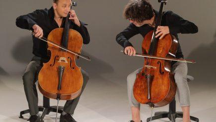 Turneul violoncelelor lui Răzvan Suma și Adrian Mantu, în 7 orașe din România