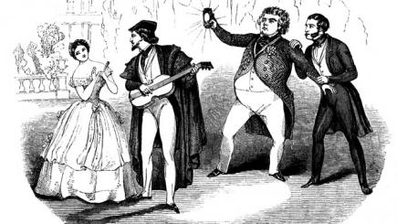 """,,Opera în recital"""", prima reprezentaţie – Don Pasquale de G.Donizetti"""