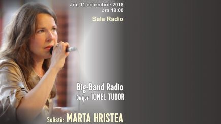 Big Band-ul Radio își redeschide stagiunea de jazz la Sala Radio!
