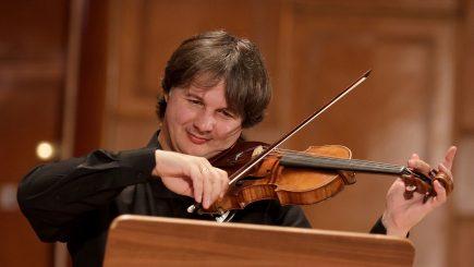 Violonistul Liviu Prunaru,  concert-maestru al celei mai bine cotate orchestre simfonice din lume, în dublă ipostază pe scena Sălii Radio!