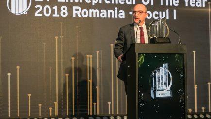 Ovidiu Șandor este câștigătorul EY Entrepreneur Of The Year - România 2018