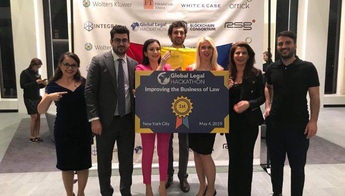 O echipă formată din avocați și IT-iști români câștigă Premiul 1 la Global Legal Hackathon