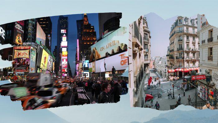 New York sau Paris? Care e locul tău de vis?