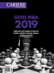 Ghid MBA 2019