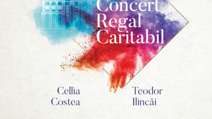 Muzicieni de talie internațională susțin tinerii artiști români printr-un spectacol de operă la Concertul Regal de strângere de fonduri