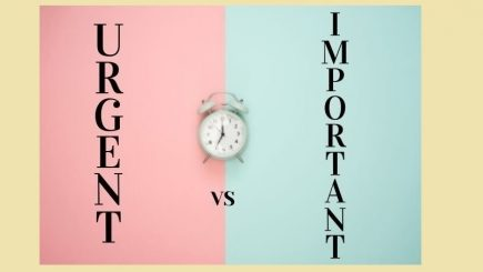 "Diferența dintre ""urgent"" și ""important"""