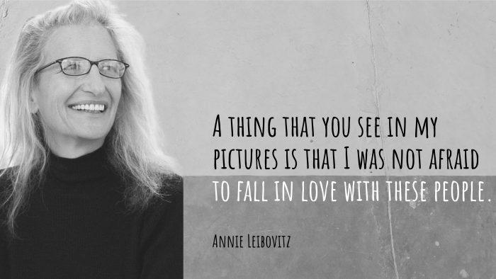 Annie Leibovitz: Mă străduiesc să fac o fotografie bună, de fiecare dată