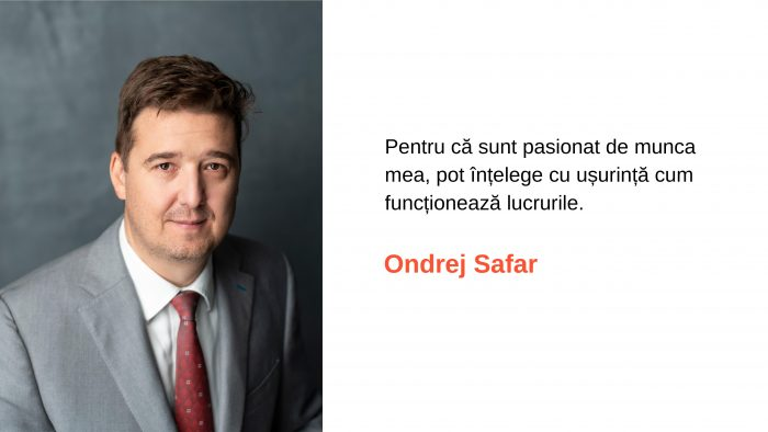 Ondrej Safar - De la o profesie de familie la un job cu acoperire internațională