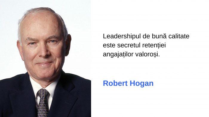 Dr. Robert Hogan, despre leadershipul competent în era digitală