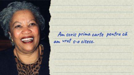 Toni Morrison: Libertatea nu vine niciodată de la sine