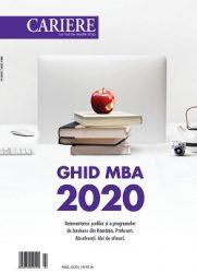 Ghid MBA 2020