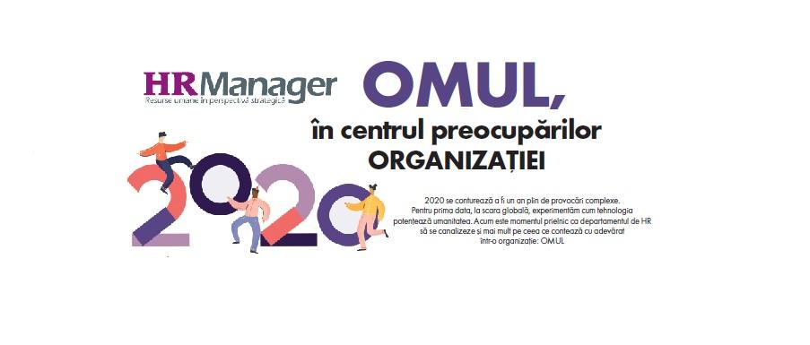 A apărut noua ediție a Revistei HR Manager: Omul, în centrul preocupărilor organizației
