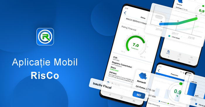 Aplicația mobilă RisCo cu date despre firme, TOTAL GRATUITĂ!