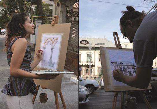 Tinerii care reînvie dragostea românilor pentru grafică și stilul Neoromânesc
