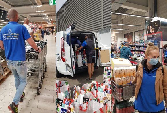 """""""Avem o dragoste de dat"""": 180 de voluntari, 45 de magazine, 6.000 de ore puse în slujba bătrânilor noștri"""