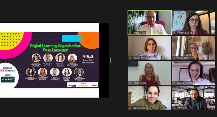 Organizațiile care învață presupun autonomie, responsabilitate, agilitate, iar digitalul ajută și accelerează aceste procese (video)