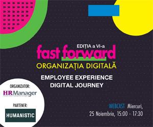 Fast Forward. Organizația digitală | ediția a VI-a