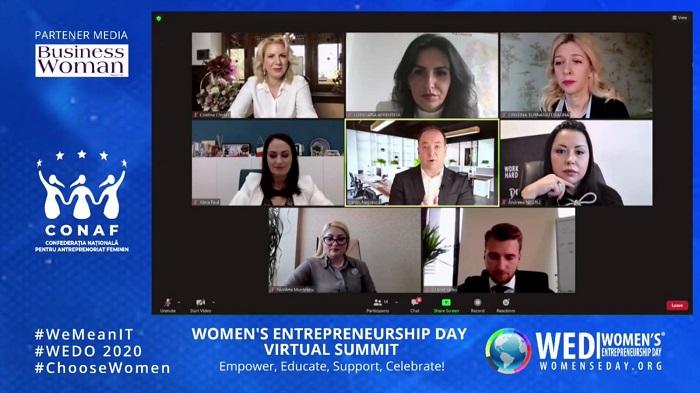Ziua Antreprenoriatului Feminin sărbătorită, în premieră, în România