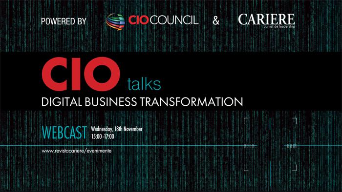 "WEBCAST: CIO TALKS - Powered by CIO Council - ""The Future of the Digital Business Ecosystem"""