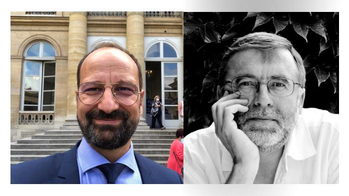 Scriitorul Matei Vișniec și dr. Radu Lupescu, decorați de președintele Macron cu distincția Cavaleri ai Ordinului Național al Meritului