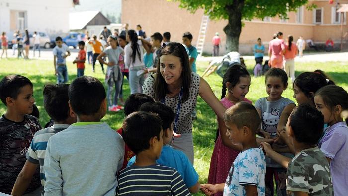 Adela Beca, alumnă Teach for Romania și formator de profesori în Asociația TechSoup