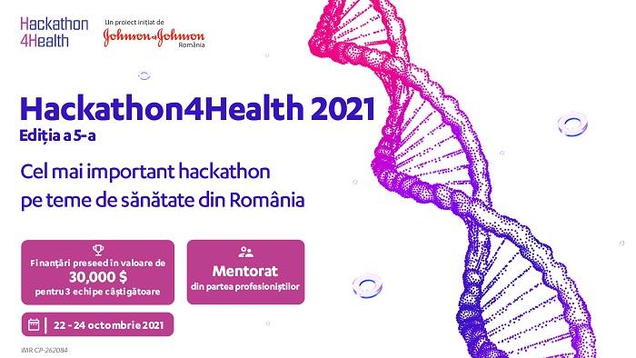 Start înscrieri Hackathon4Health 2021